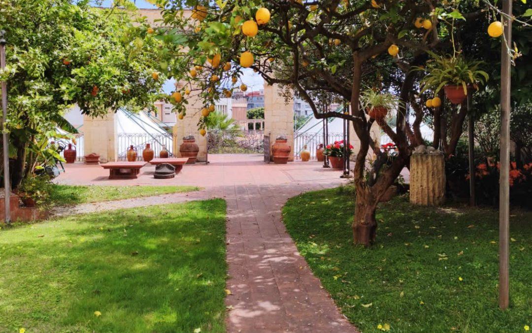 Appuntamento in giardino a Villa Vivaldi